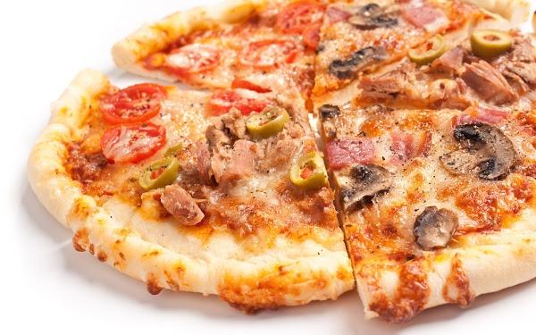 Pizza Receta Casera Paso a Paso
