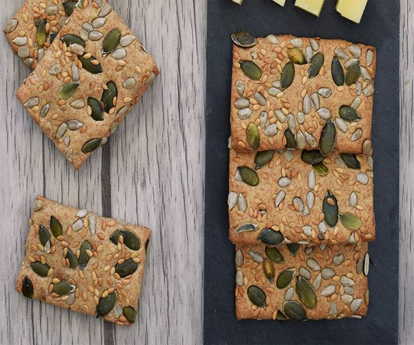 Como Preparar Ricos Crackers de Espelta Saludables