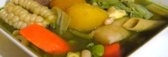 Menestrón Receta De Sopa Para El Invierno