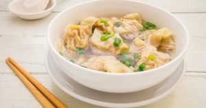Sopa Wantan Receta China Tradicional