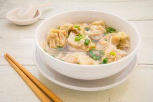 Sopa Wantan Receta China Tradicional