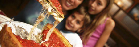 Receta Para Hacer Pizza Estilo Chicago