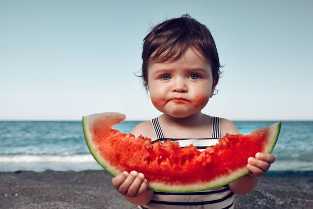 ¿Un Bebe Puede Comer Sandia? Claro que si!
