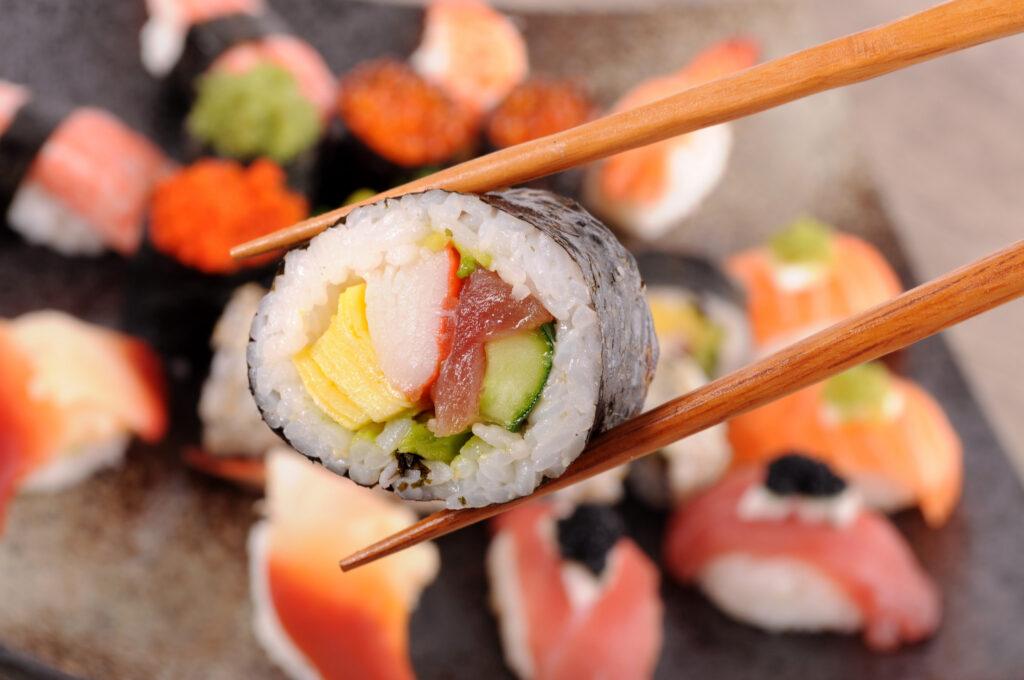 Como Preparar Sushi Japones