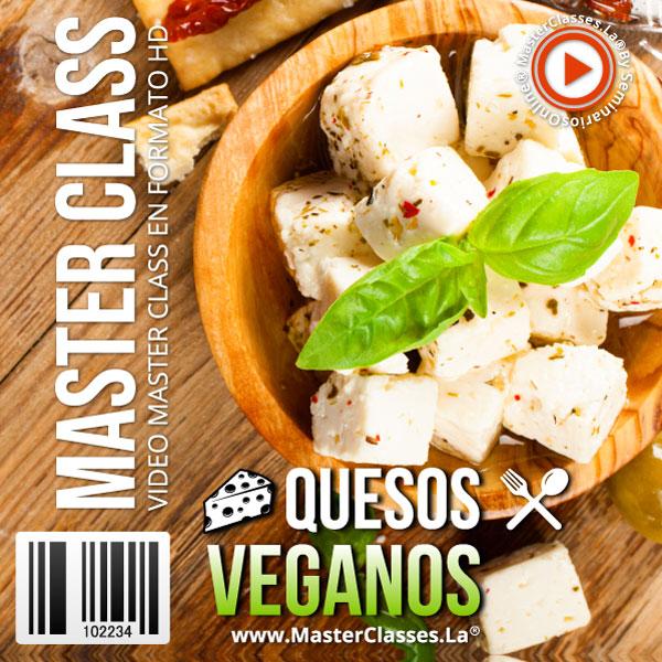 quesos veganos